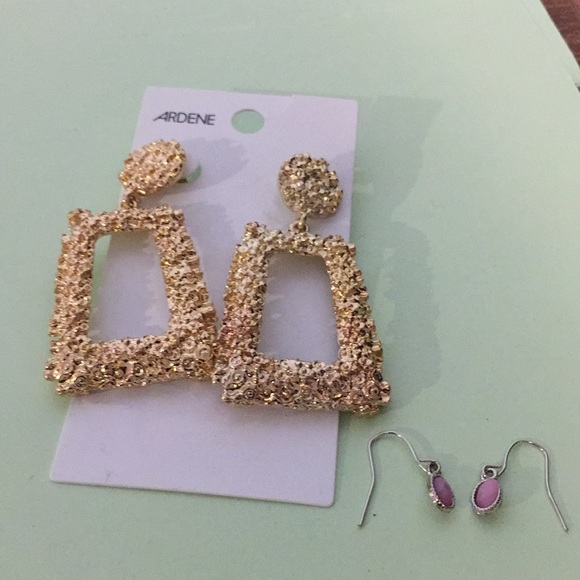 Ardene fashion earrings plus one other pair